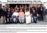 Induction Training Programme  for Civil Judge(Jr. Div.)/J.M., 2015