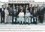 Refresher Training Course for C.J.M./A.C.J.M./Civil Judge(Sr. Div.) from  25/05/2015-30/05/2015