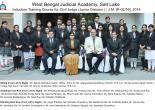 Induction Level Training Programme for Civil Judge Junior Division/Judicial Magistrate